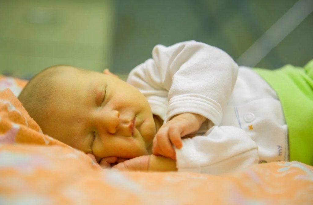 Yeni doğan bebekte sarılık